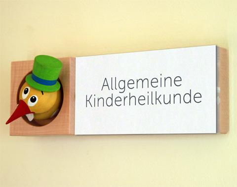 Eingang Allgemeine Kinderheilkunde