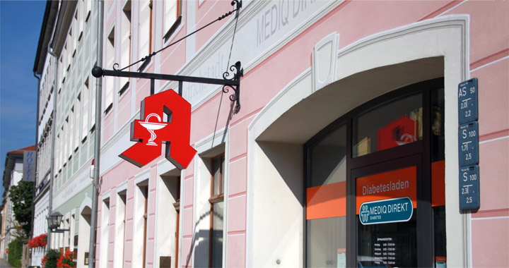 Medizinische Einrichtungen Kinderzentrum Dresden-Friedrichstadt