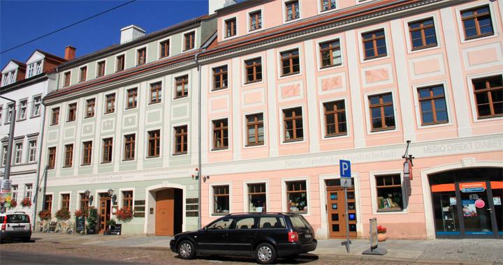 Gebäude Kinderzentrum Dresden-Friedrichstadt