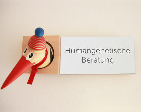 Eingang Humangenetische Beratung