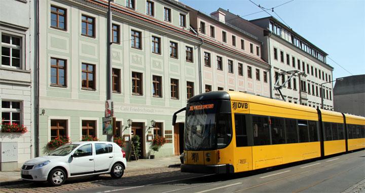 Anfahrt Kinderzentrum Dresden-Friedrichstadt